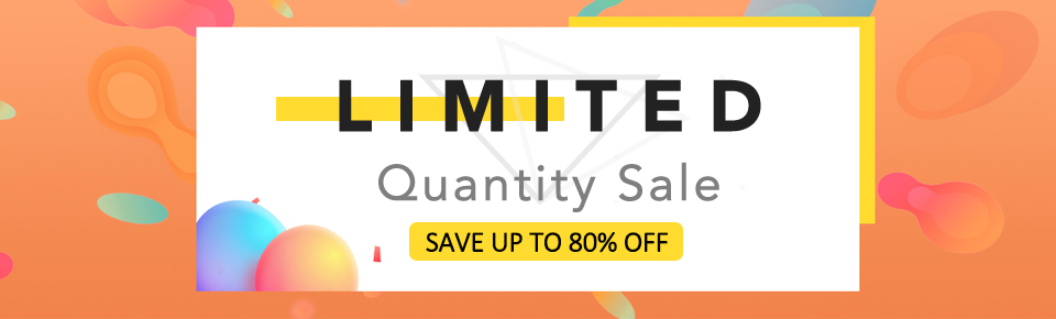 Limited Quantity Sale: Save Up to 80% Off