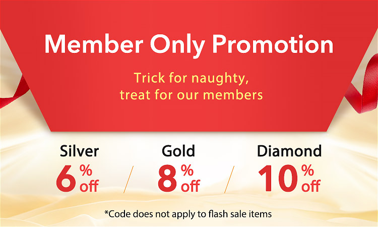 Member Only Promotion